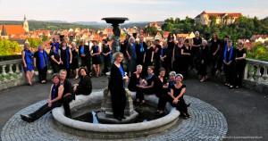 Frauenchor mit Panoramablick über Tübingen 1 (Photo: Oscar Schmid-Schwämmle)