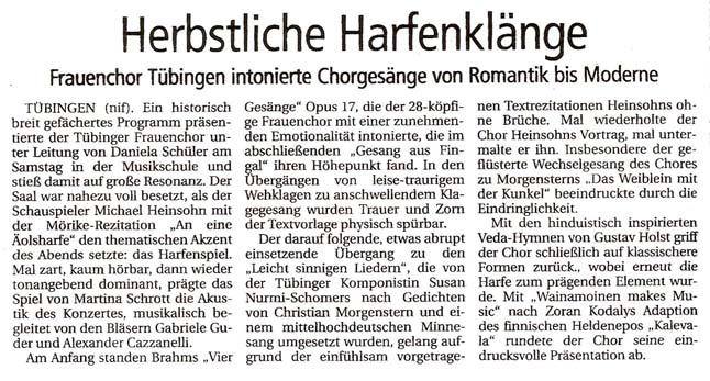 Tübingen, 25.10.2003